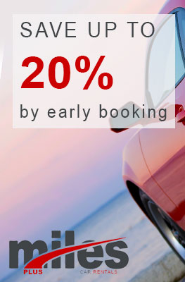 Save up to 20% by early booking!